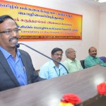 Honorable Vice-Chancellor of Tamil University addressing Department of Translation - Conference (22.02.2019) and its Event Photos