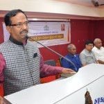 Honorable Vice-Chancellor of Tamil University addressing World Tamil Language Day Celebration on 21-02-2019 and its Event Photos