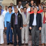 GROUP PHOTO WITH FOREIGN DELIGATES