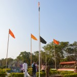 Honorable Vice-Chancellor hosting National Flag in the 70th Republic Day Celebration at Tamil University