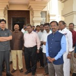 Honorable ViceChancellor with Respected Registrar and Professors, Officials, Staffs of Tamil University Welcoming the Thiruvallur Statue to be hosted at Malayia University, Kulalampur, Malaysia at Tamil University on 02-01-2019. Function organized by: Department of Foreign Studies, Tamil University.