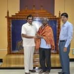 VICE CHANCELLOR HONOUR DR.S. UDHAYASURIYAN FOR  (Equality Teacher Award)