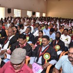 Tamil University 12th Convocation is held on 22.10.2019 magnificently. In this event, Excellency Governor of Tamilnadu, Honourable minister for Tamil Development and Culture, Honourable Vice-Chancellor and Registrar, Syndicate, Senate and Special Guests participated. Former Vice-chancellor of Madras University and Post-Doctoral awardees who are invited as special guests, Deans, Head of Departments, Professors, Non-academic Staffs and Students actively participated and the records of this memorable events are photographed.