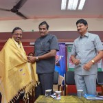 VICE CHANCELLOR HONOUR BANK OF INDIA BR.MANAGER Mr.V. BARTHASARATHY ON THE OCCASSION