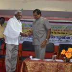 """EPIGRAPHY AND THE ARCHAEOLOGY DEPARTMENT OF TAMIL UNIVERSITY CONDUCTED SEMINOR OF ABOUT """"FIRST RAJENDRA CHOLA INSCRIPTION"""""""