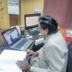 RESPECTED VICE CHANCELLOR CONDUCTED VIVA EXAMINATION ON SKYPE ONLINE