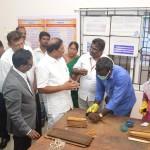 தமிழ்ப் பல்கலைக்கழகத்தில் 17.10.2018 அன்று நடைபெற்ற சுவடிகள் பாதுகாப்பு மையத் திறப்பு விழா